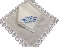 Personalised Irish Linen Handkerchief